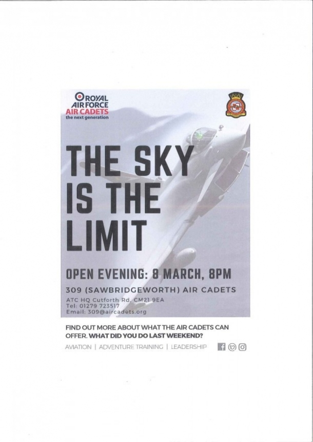 Royal Air Force Air Cadets Open Evening