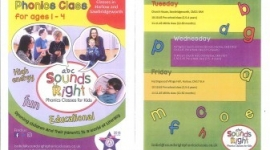 Phonics Classes in Sawbridgeworth - for ages 1-4 years